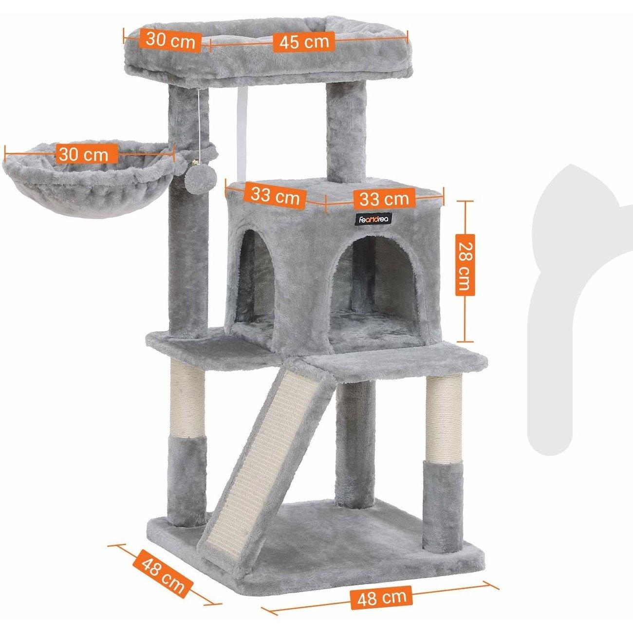 FEANDREA Katzenbaum, Kletterturm für Katzen mittel, Bild 6