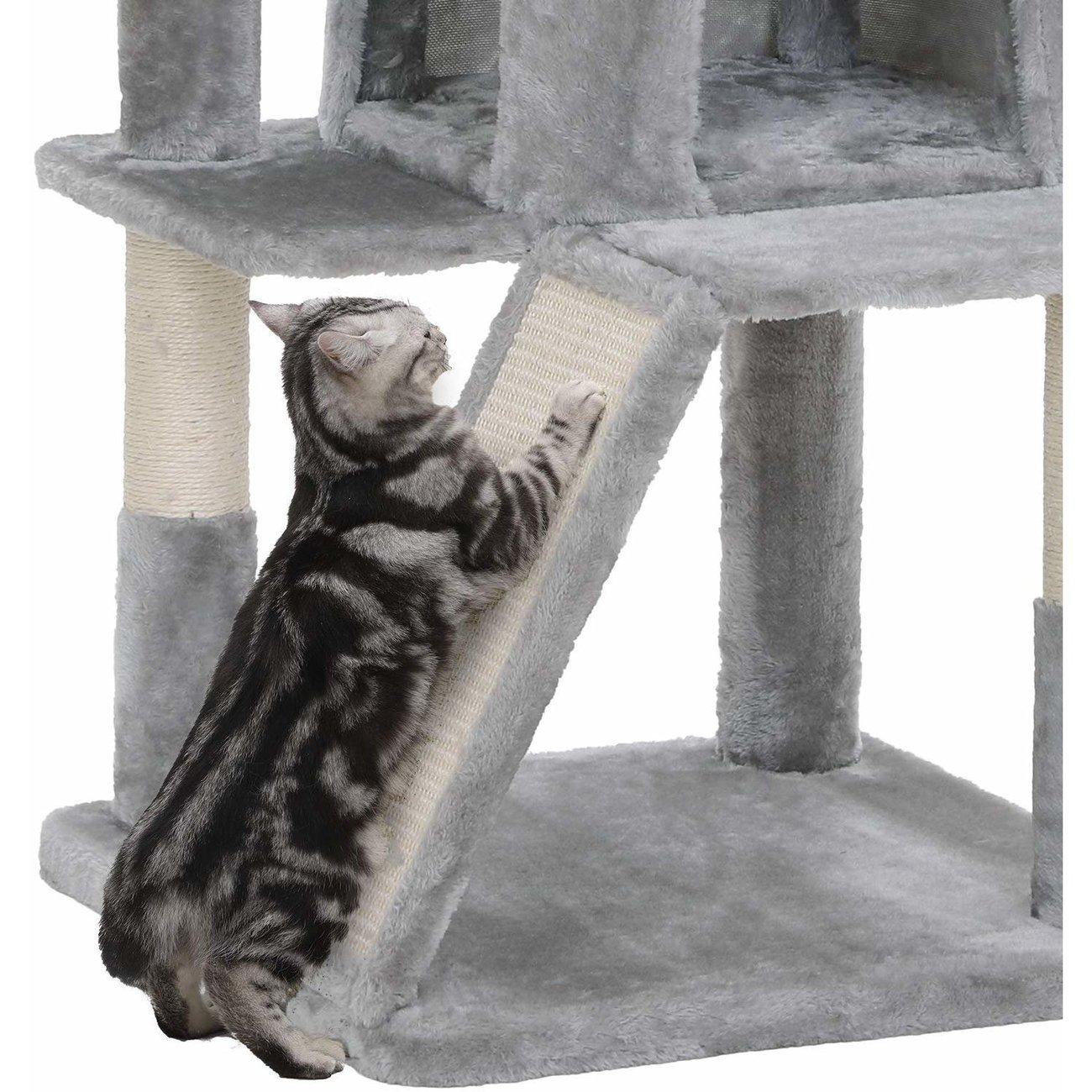 FEANDREA Katzenbaum, Kletterturm für Katzen mittel, Bild 8