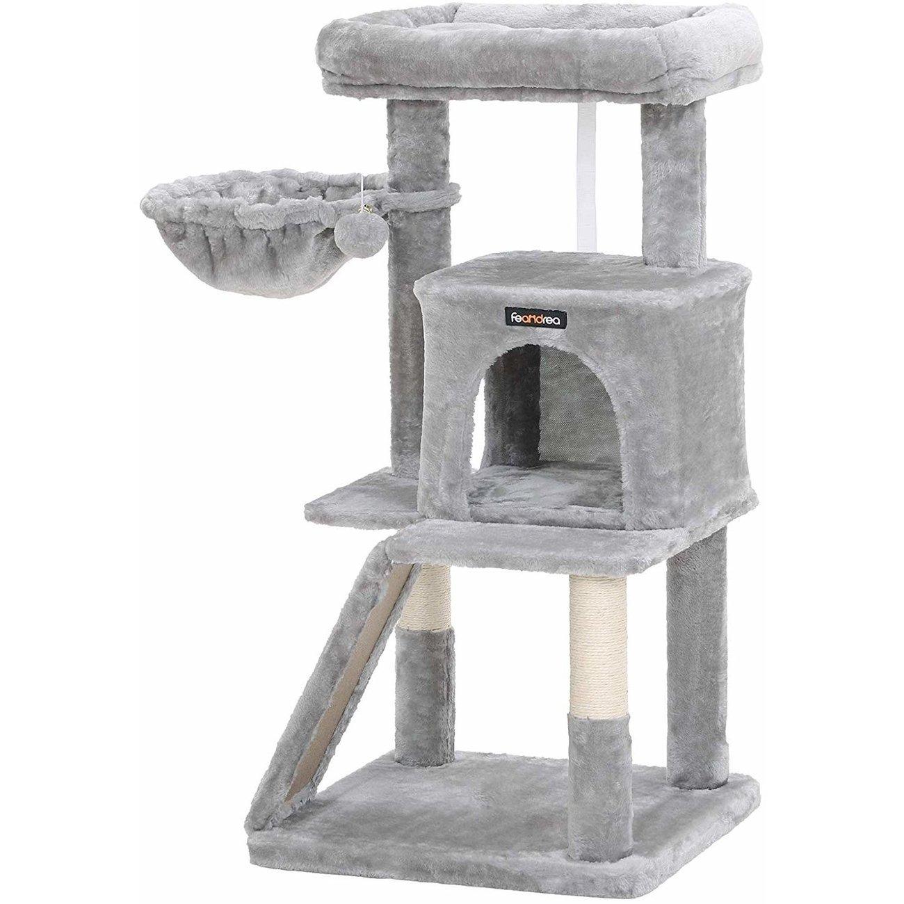 FEANDREA Katzenbaum, Kletterturm für Katzen mittel, Bild 4