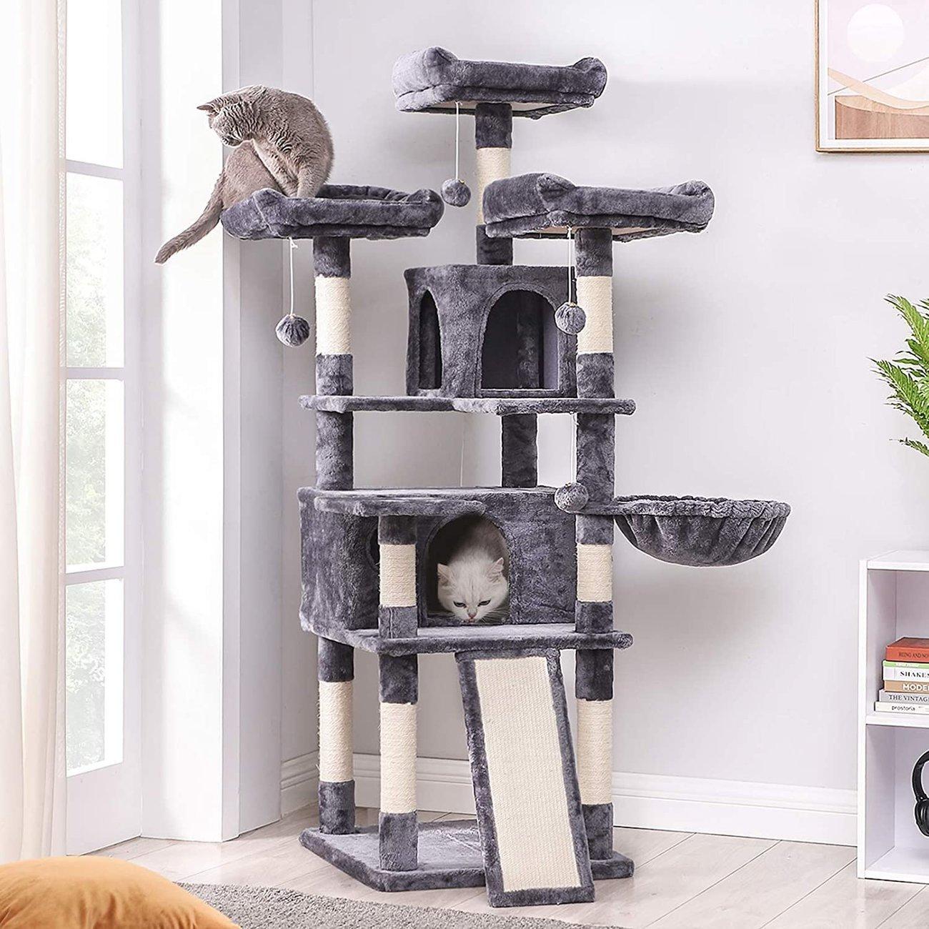 FEANDREA Kratzbaum XXL Cat Condo Preview Image