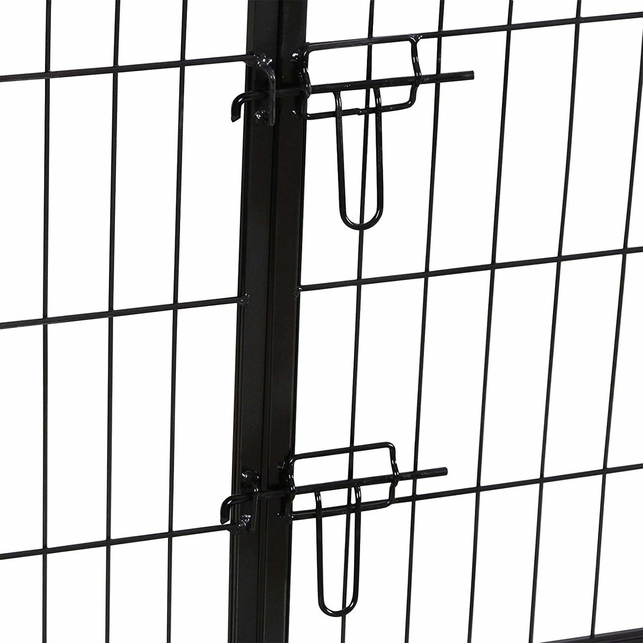 FEANDREA Welpenauslauf Laufgitter Welpenfreigehege 80x100cm, Bild 12