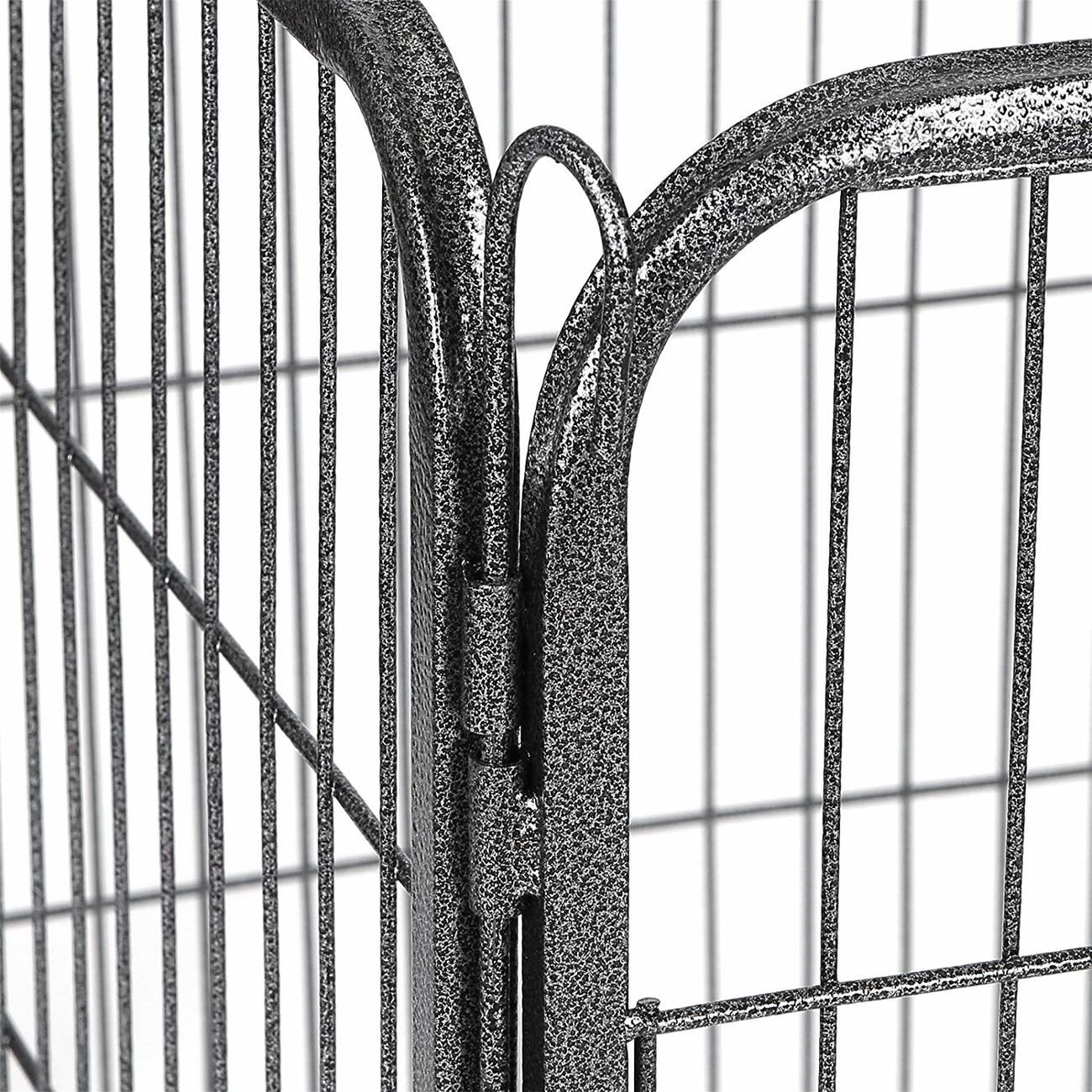 FEANDREA Welpenauslauf, Welpengitter für Drinnen und Draußen, Bild 9