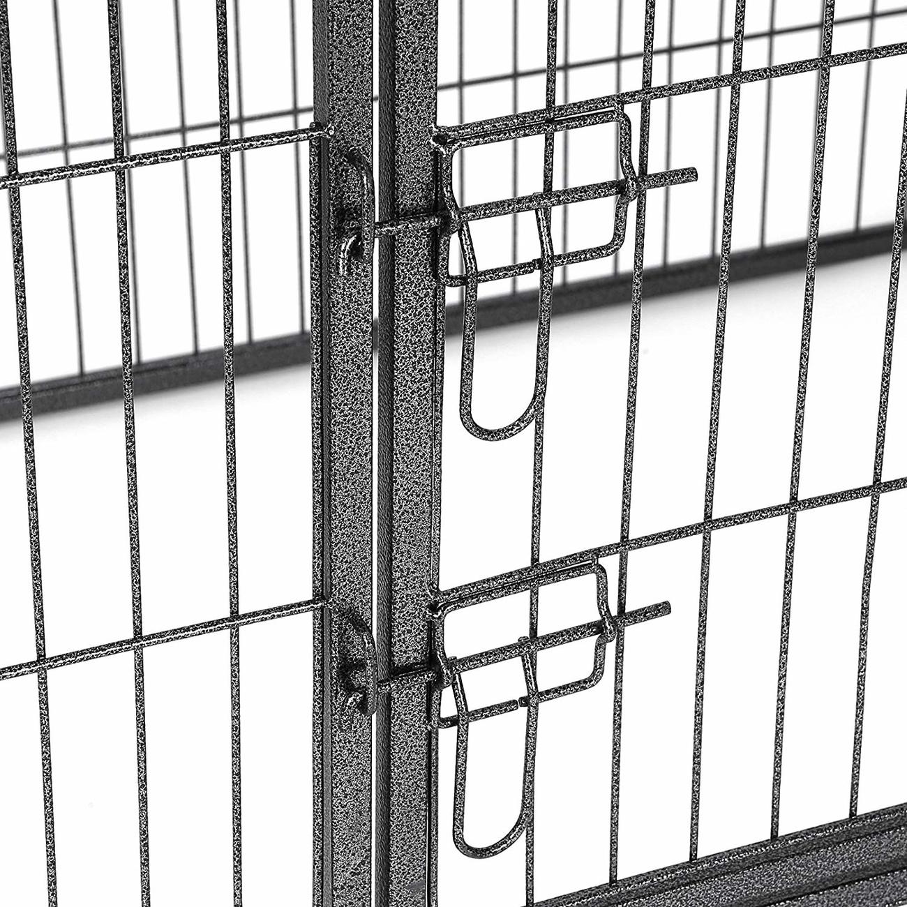FEANDREA Welpenauslauf, Welpengitter für Drinnen und Draußen, Bild 10