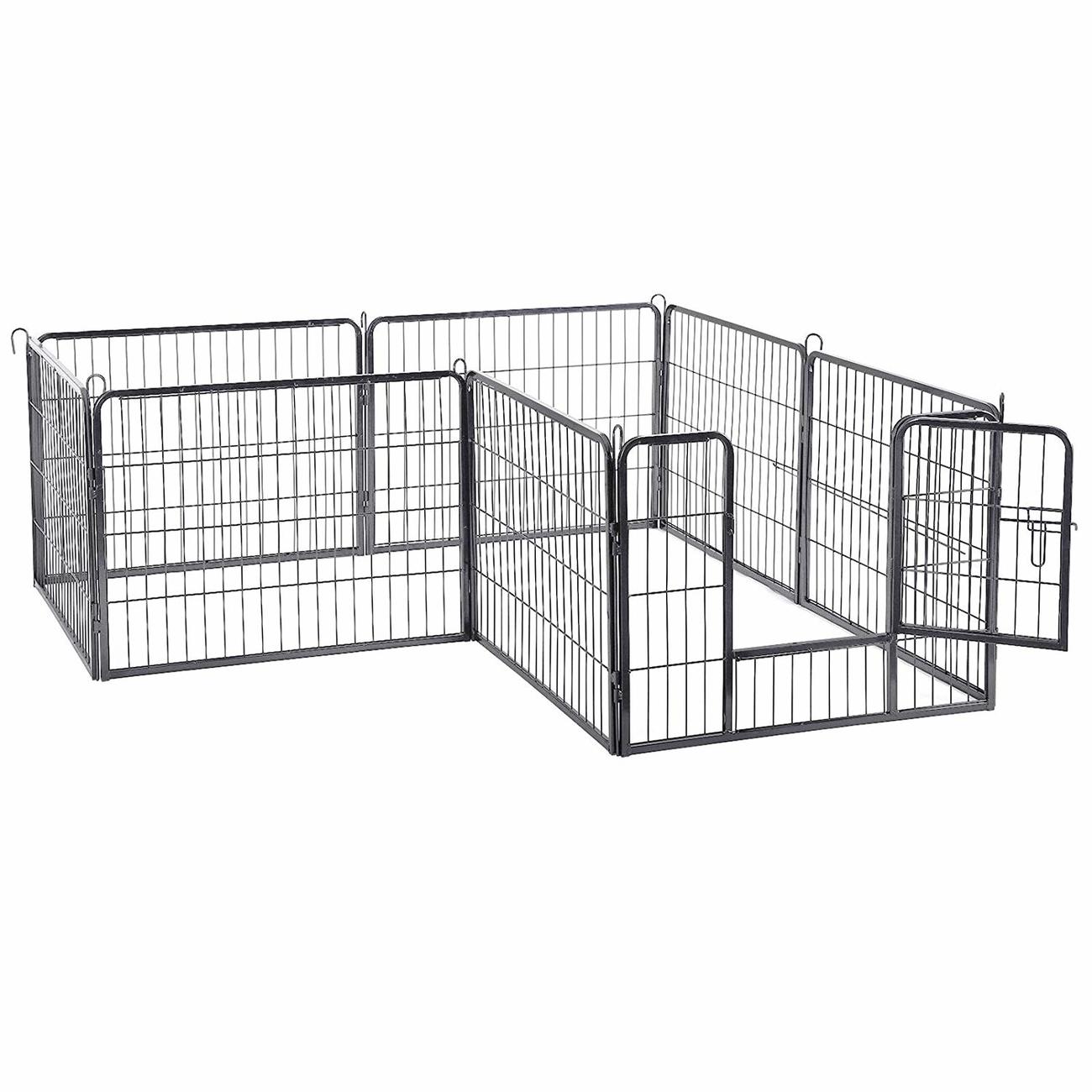 FEANDREA Welpenfreigehege Hundegehege Freilaufgehege 80x60cm, Bild 3