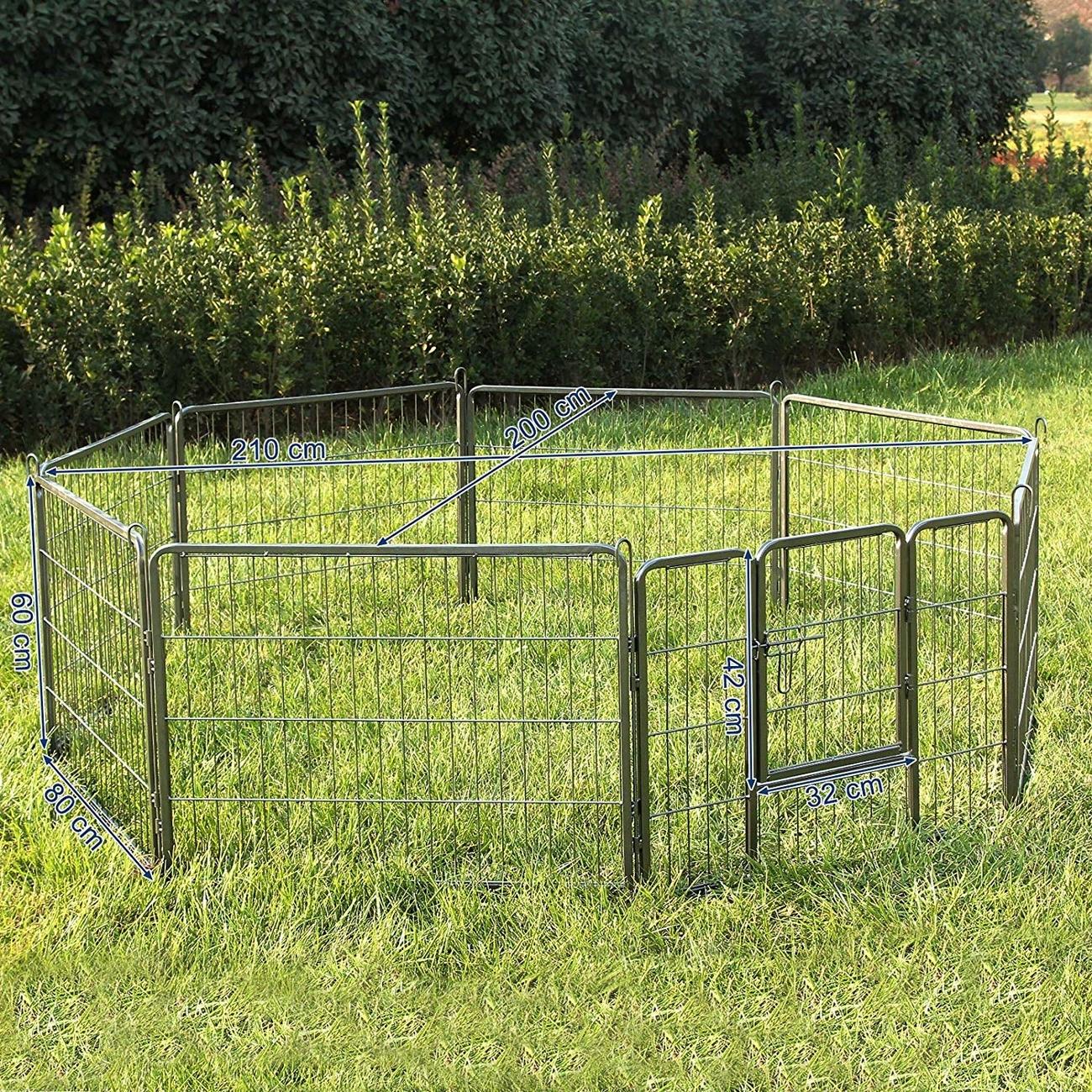 FEANDREA Welpenfreigehege Hundegehege Freilaufgehege 80x60cm, Bild 4