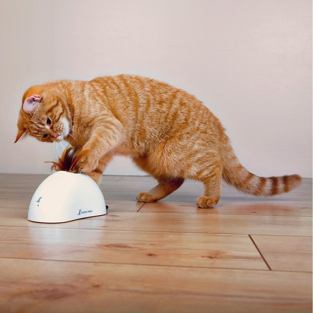 GiGwi Feather Hider, Katzenspielzeug mit Bewegungssensor, Bild 3