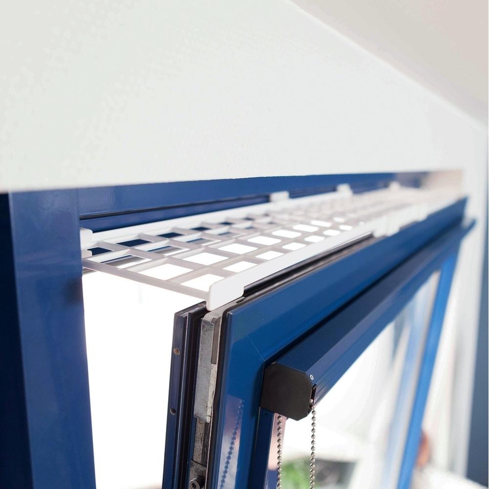 Trixie Fensterschutzgitter für Katzen Kunststoff 44182