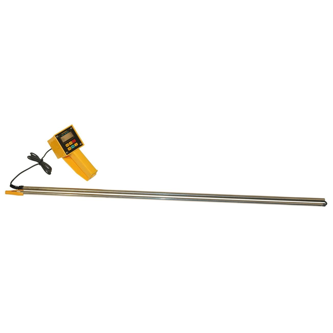 Kerbl Feuchtemessgerät für Heu und Stroh, mit Kabel und 2m Sonde