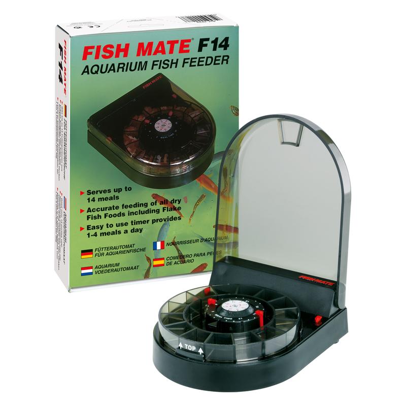 Pet Mate Fischfutterautomat Fish Mate F14 für Aquarium