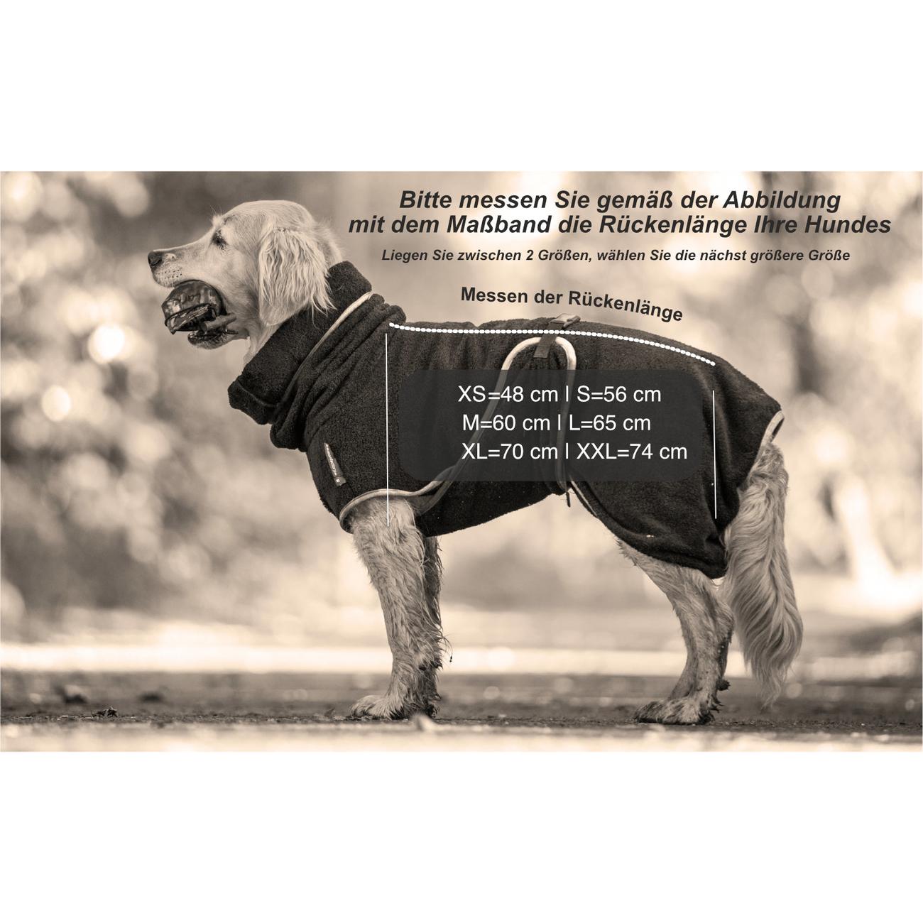 fit4dogs DryUp Cape Royal - Trockenmantel für Hunde, Bild 6