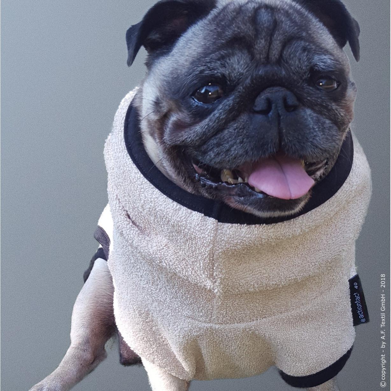 fit4dogs DryUp Cape Trockenmantel für Mops und Co