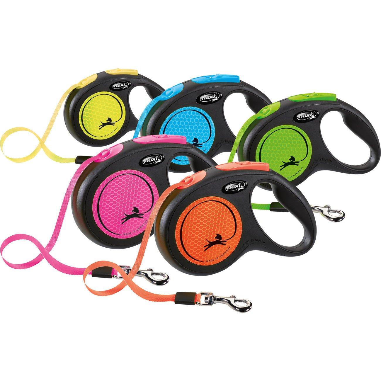 flexi New Neon Gurt Rollleine