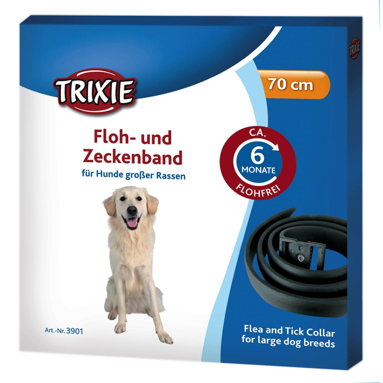 Trixie Flohhalsband und Zeckenhalsband für Hunde 3900, Bild 2