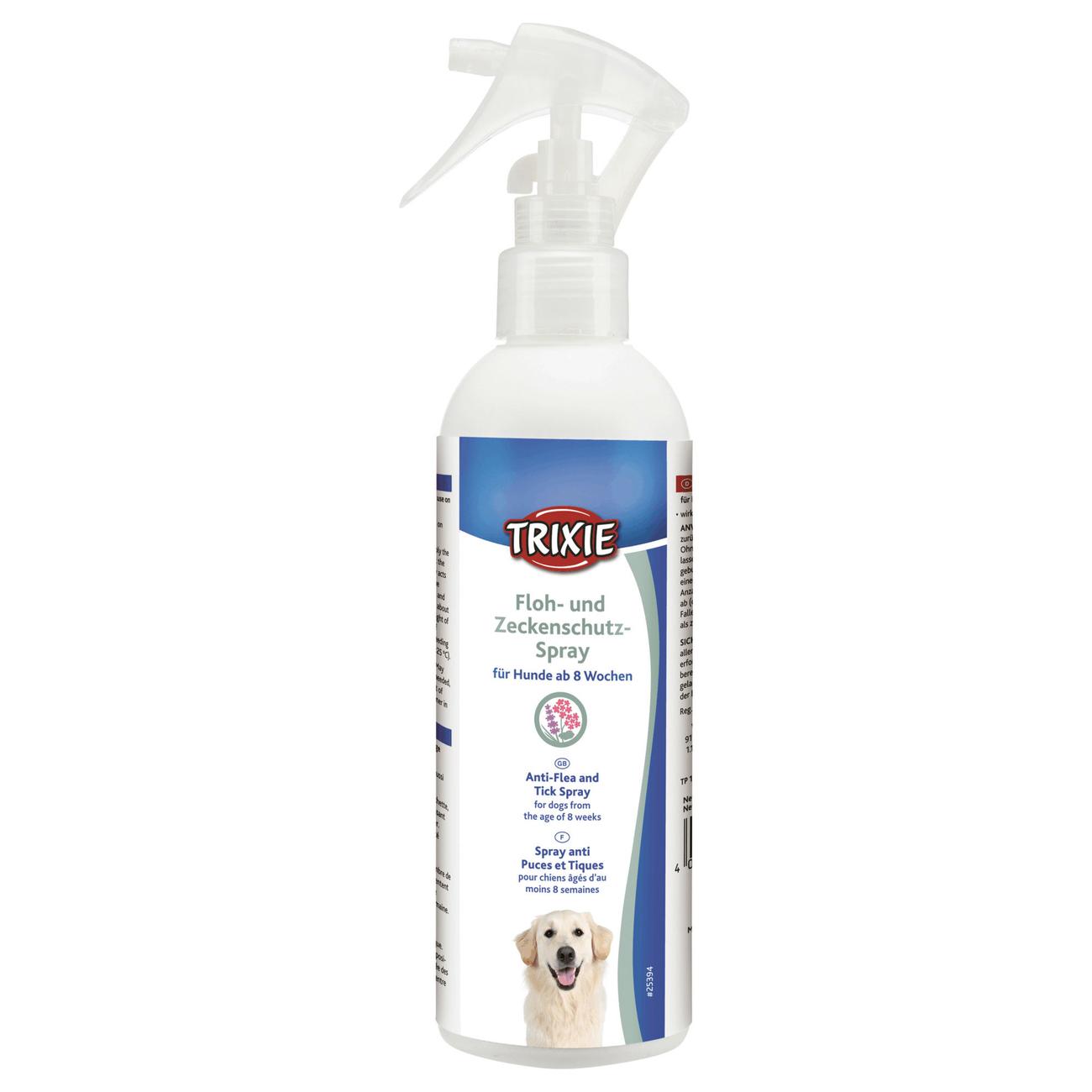 Trixie Flohschutz und Zeckenschutz-Spray für Hunde 25394
