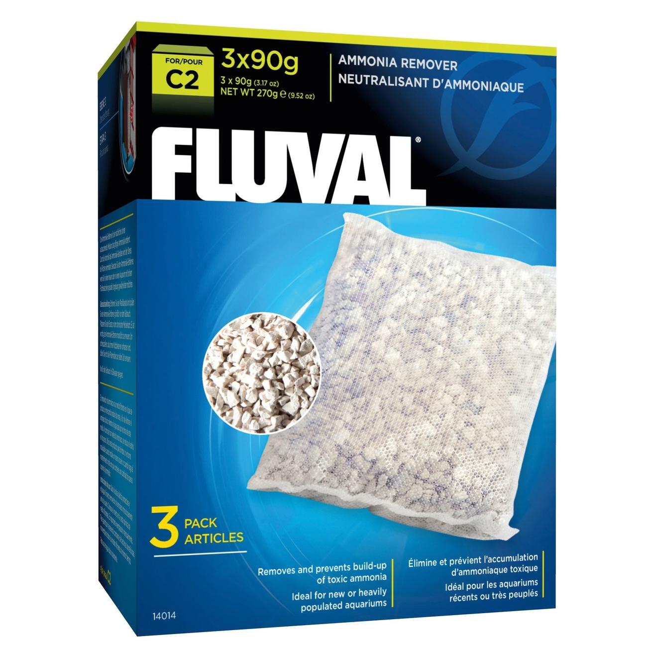 Hagen Fluval C Ammoniak-Entferner, 3x90 g