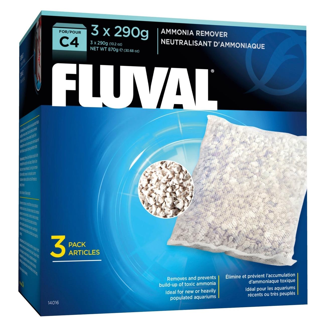 Hagen Fluval C Ammoniak-Entferner, 3x290 g