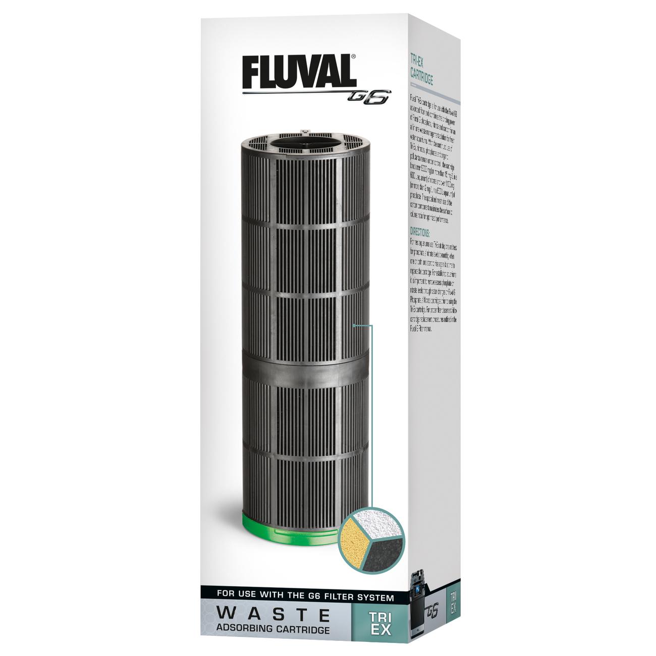 Hagen Fluval Filtermedien für G-Serien, Tri-X für G6 (7,3 x 18,4 x 7,3 cm)