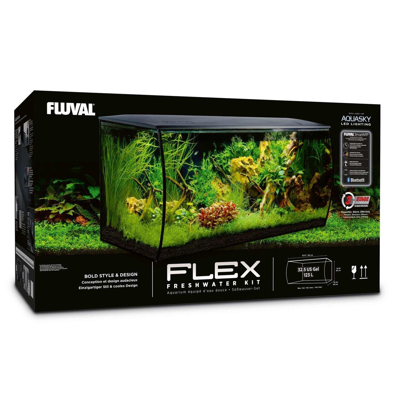 Fluval Flex 123 Liter Aquarium, Bild 3