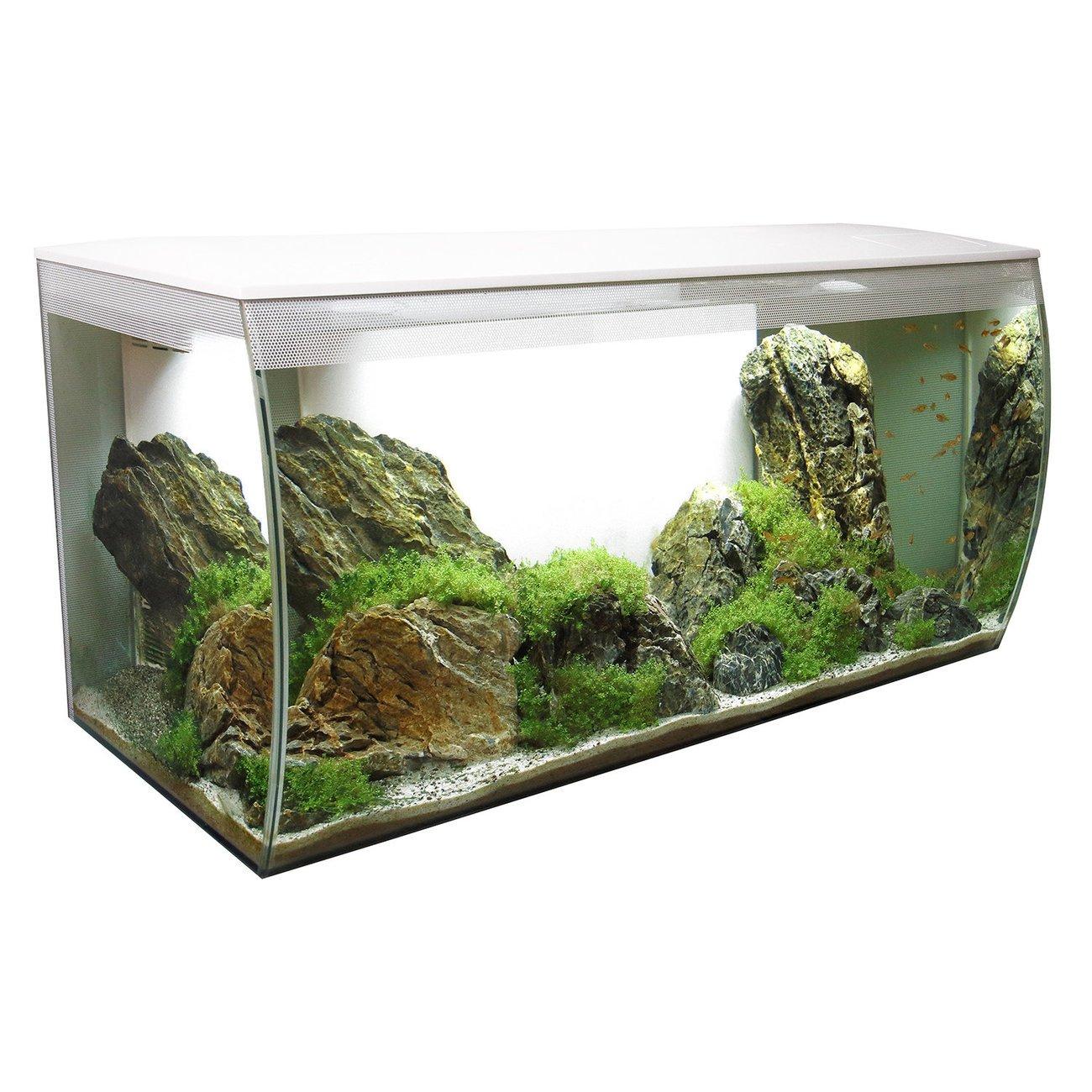 Hagen Fluval Flex 123 Liter Aquarium, weiß, 82 x 39 x 40 cm (B x H x T)