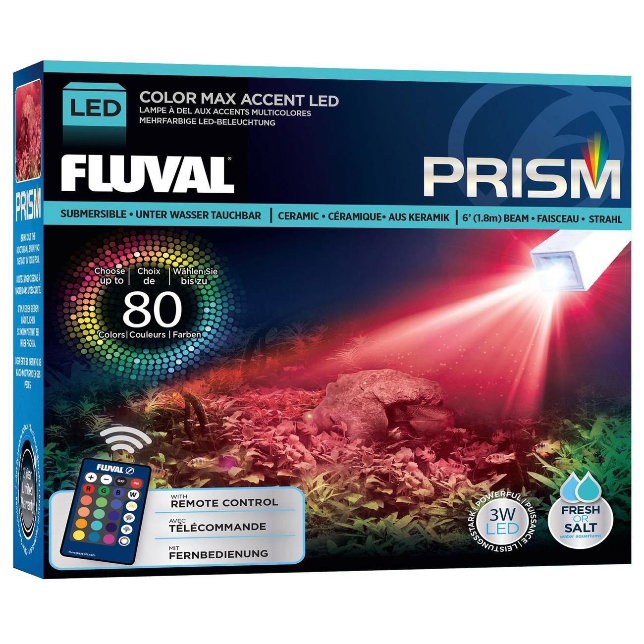 Hagen Fluval Prism Unterwasser-LED-Beleuchtung, 12 x 5 x 14 cm