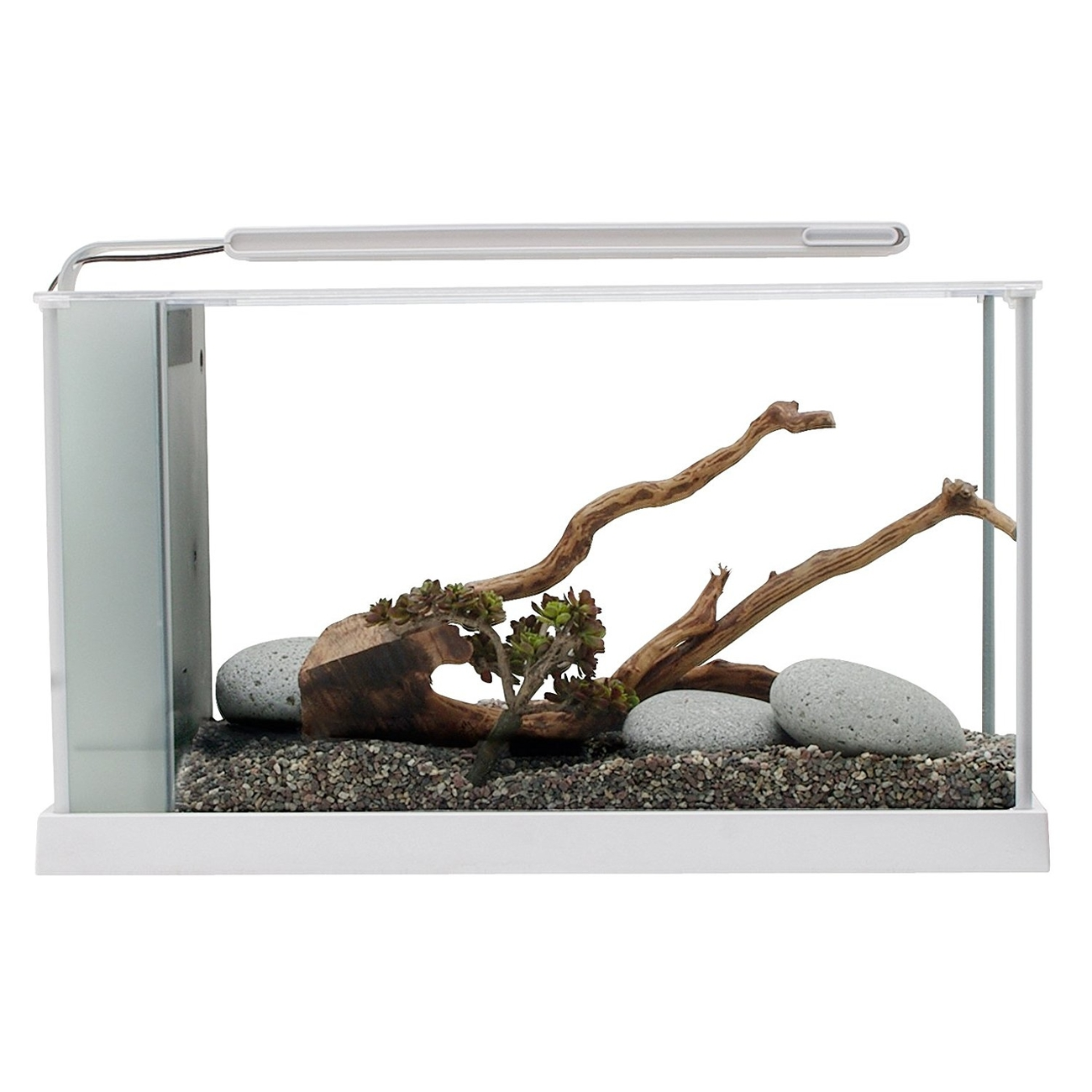 Hagen Fluval SPEC Süßwasser Aquarium Set, SPEC 5 - 21,1 l weiß (51,5 x 30,5 x 19,0 cm)