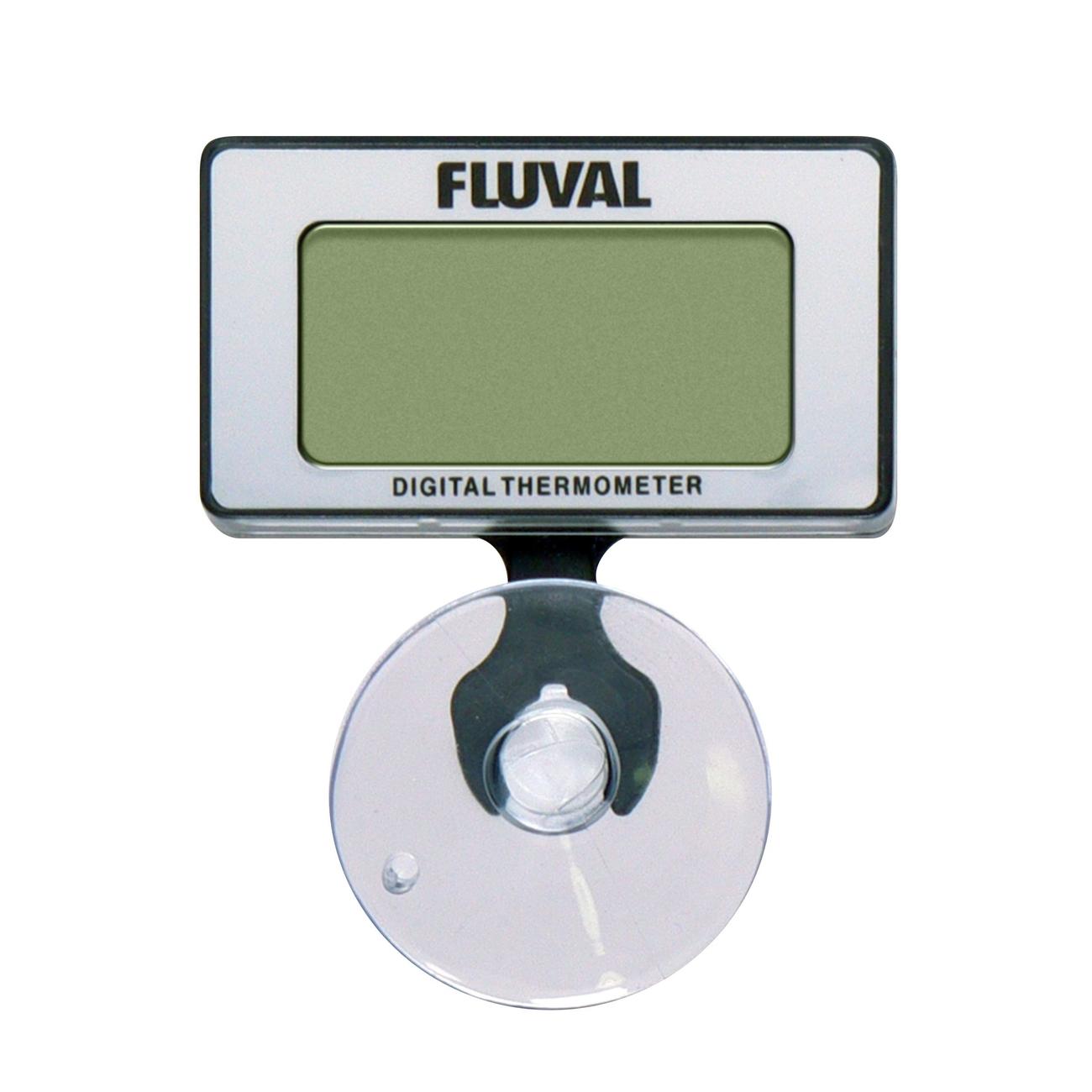 Hagen Fluval tauchbares Digitalthermometer, 4,9 x 2,4 x 6,2 cm