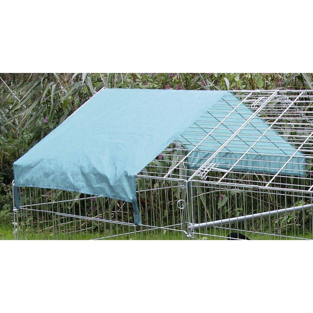 Kerbl Freigehege für Kaninchen mit Sonnenschutz, Bild 2
