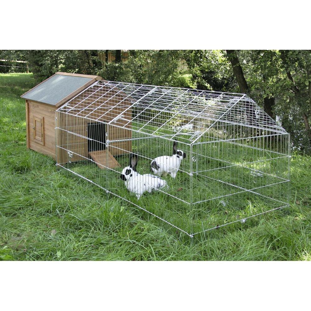 Kerbl Freigehege für Kaninchen mit Sonnenschutz, Bild 4