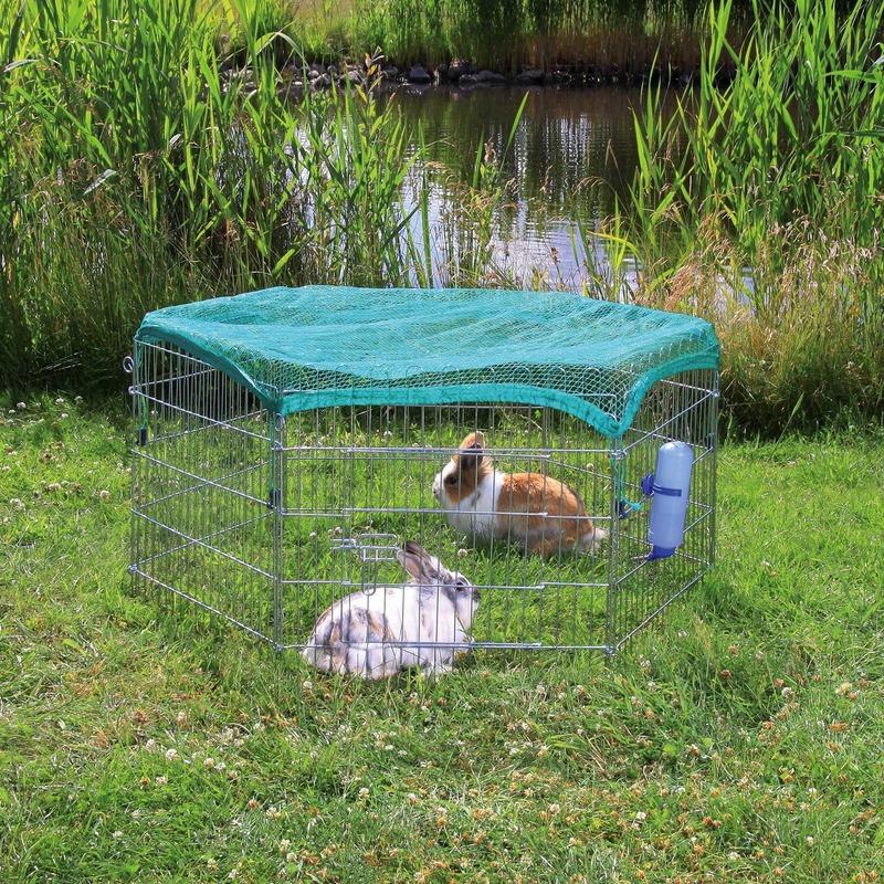 TRIXIE Freilaufgehege mit Netz für Kleintiere 6253