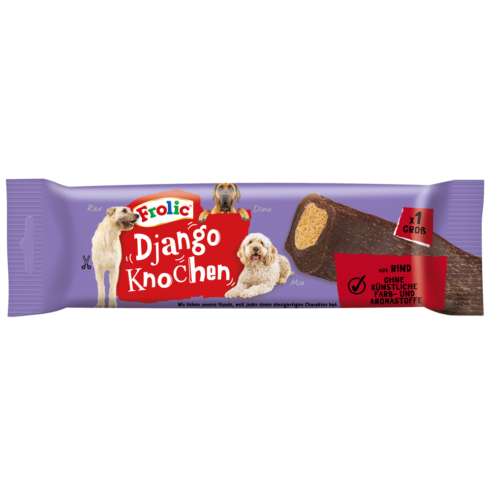 Frolic Snack Django mit Rind, Bild 3