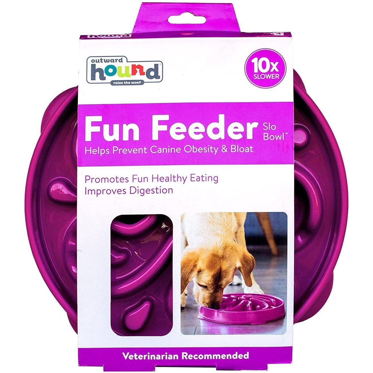 Outward Hound Fun Feeder Slo-Bowl Anti Schling Hundenapf, Bild 10