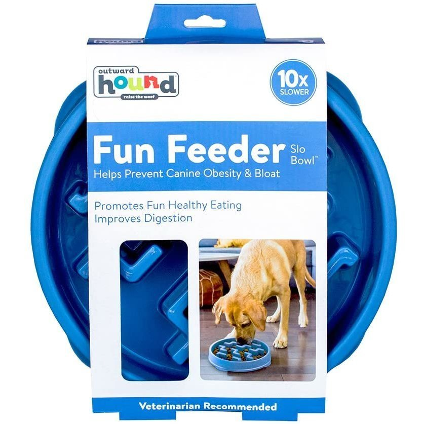Outward Hound Fun Feeder Slo-Bowl Anti Schling Hundenapf, Bild 13