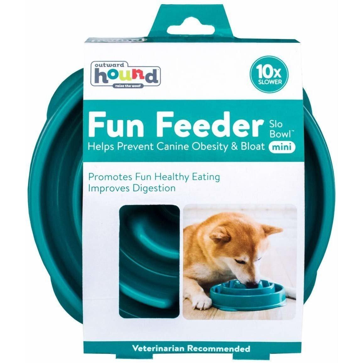 Outward Hound Fun Feeder Slo-Bowl Anti Schling Hundenapf, Bild 17