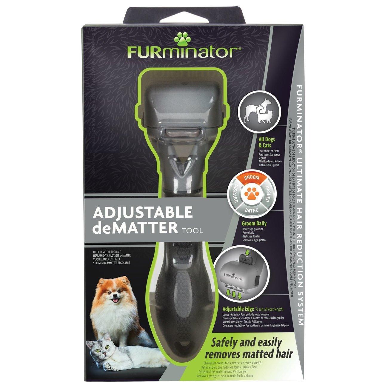FURminator® verstellbarer Entfilzer für Katzen und Hunde, Bild 4