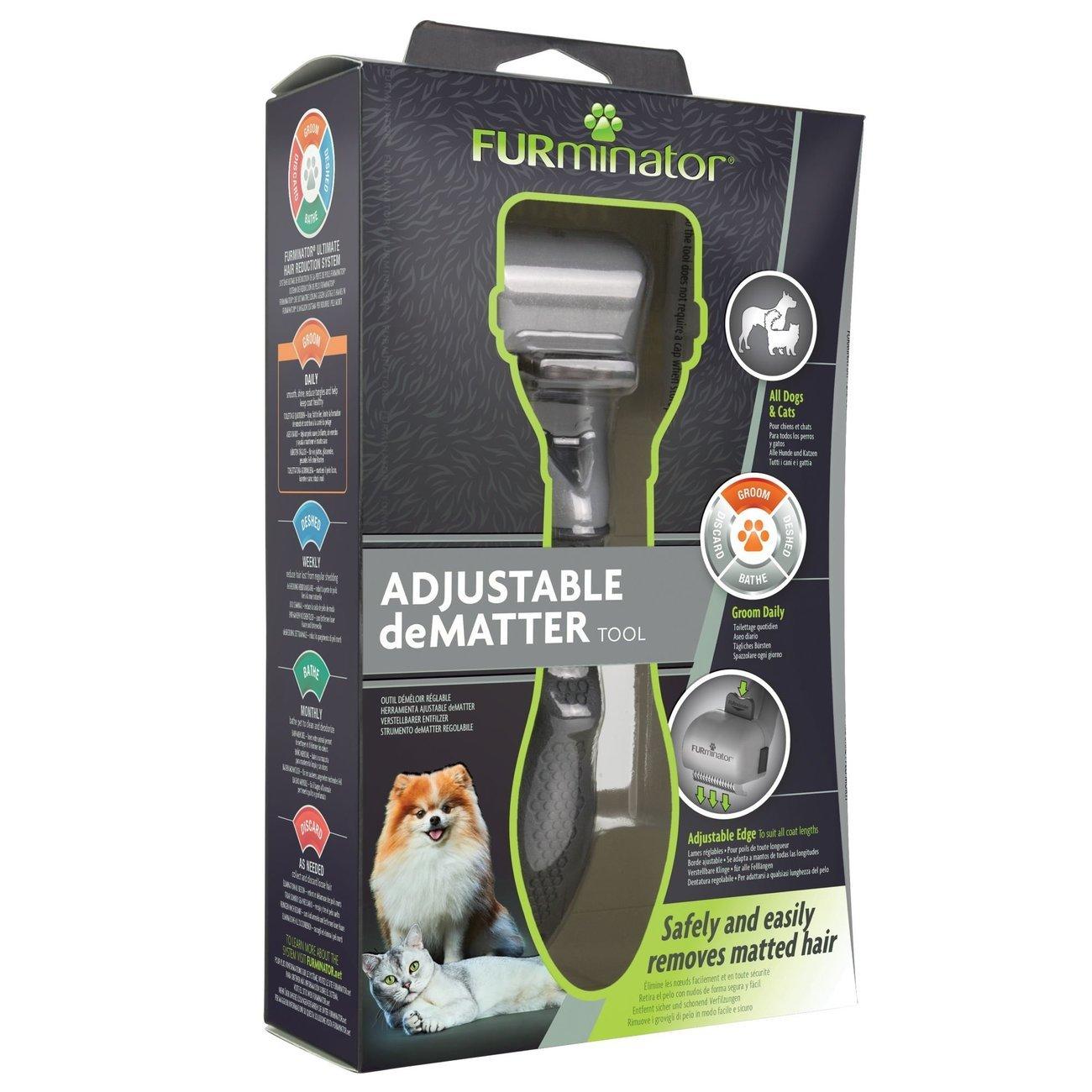 FURminator® verstellbarer Entfilzer für Katzen und Hunde, Bild 5