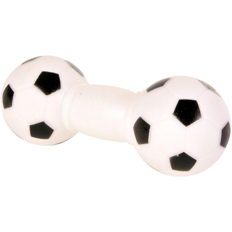 TRIXIE Fußball Hantel Hundespielzeug 3359