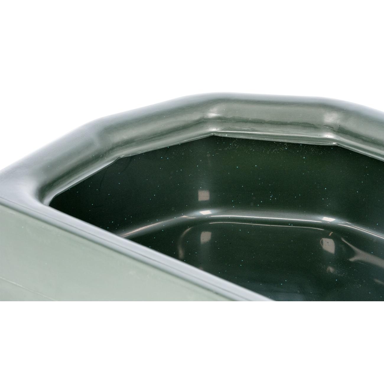 Kerbl Futtertrog halbrund aus Kunststoff, Bild 6