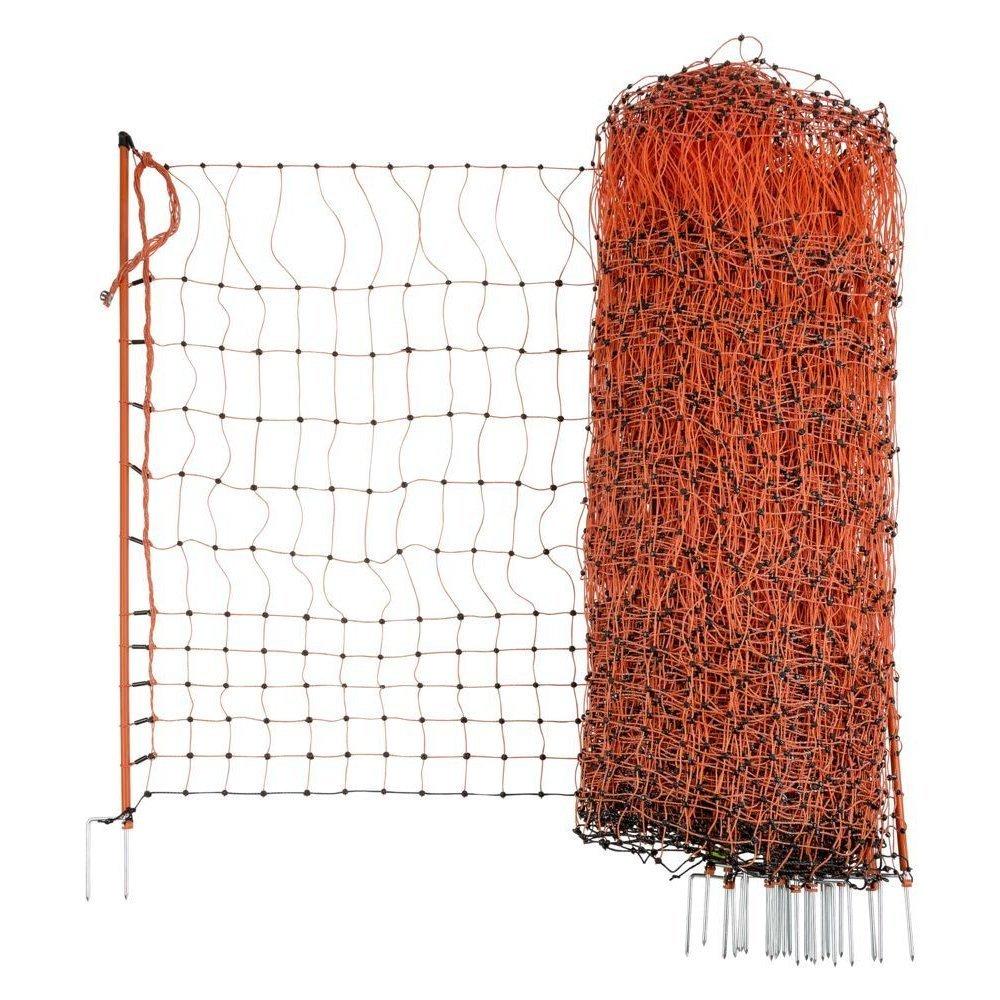 Kerbl Geflügelnetz PoultryNet orange elektrifizierbar, Bild 19