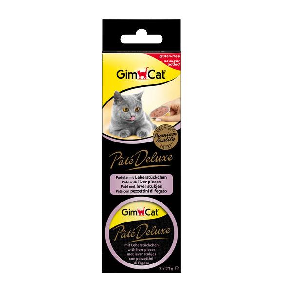 GimCat Pate Deluxe Katzen Snack, Bild 3