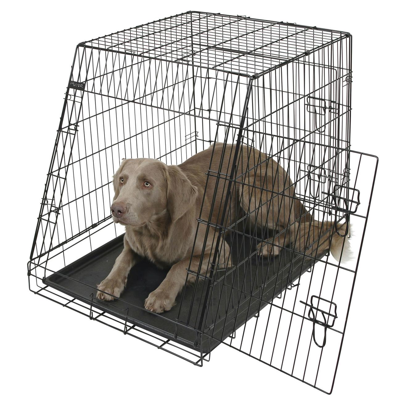 Kerbl Gitter Transportbox für Hunde abgeschrägt, Bild 3