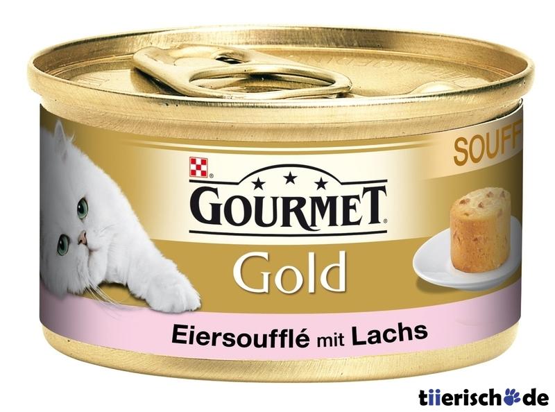 Purina GOURMET Gold Eiersoufflé Katzenfutter