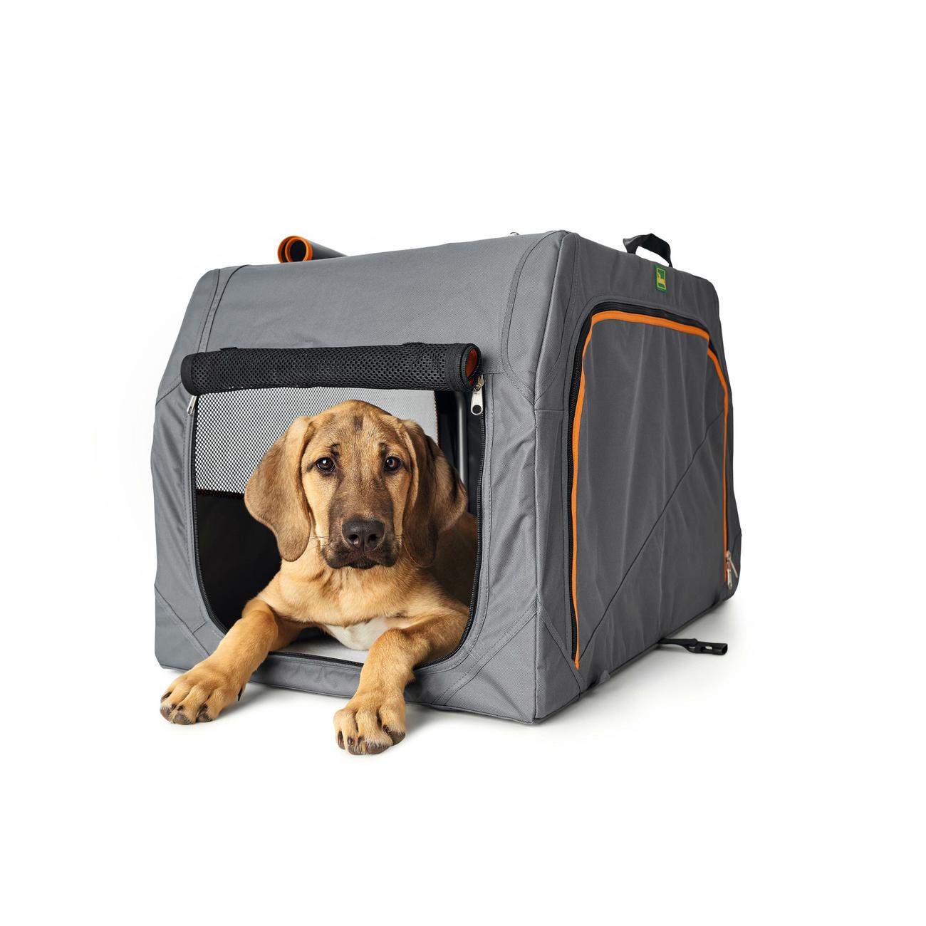 HUNTER Hundetransportbox Alu-Gestell