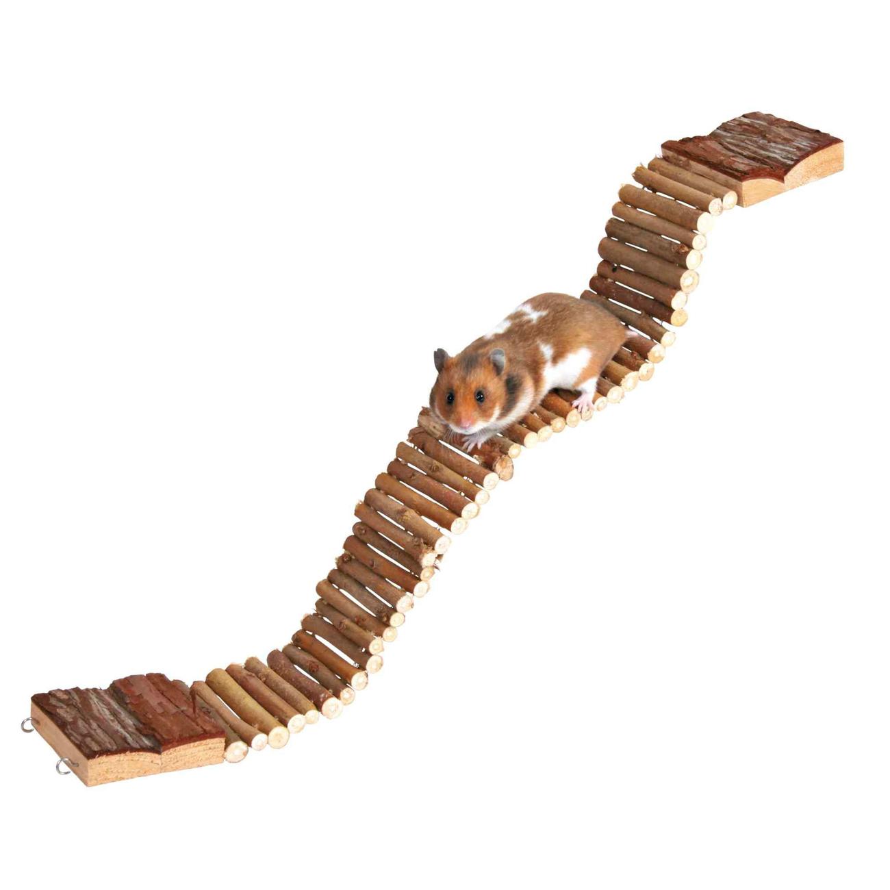 TRIXIE Hängebrücke für Hamster und Mäuse aus Holz , Bild 2
