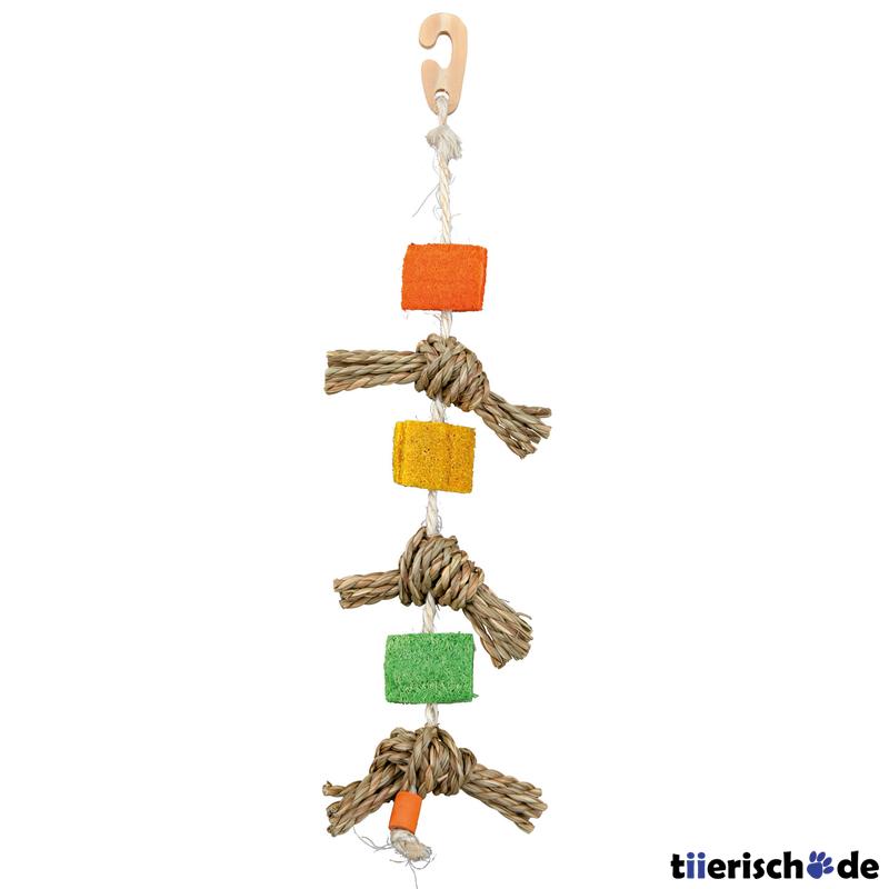 Trixie Hängendes Vogelspielzeug Natur am Sisalseil 58958