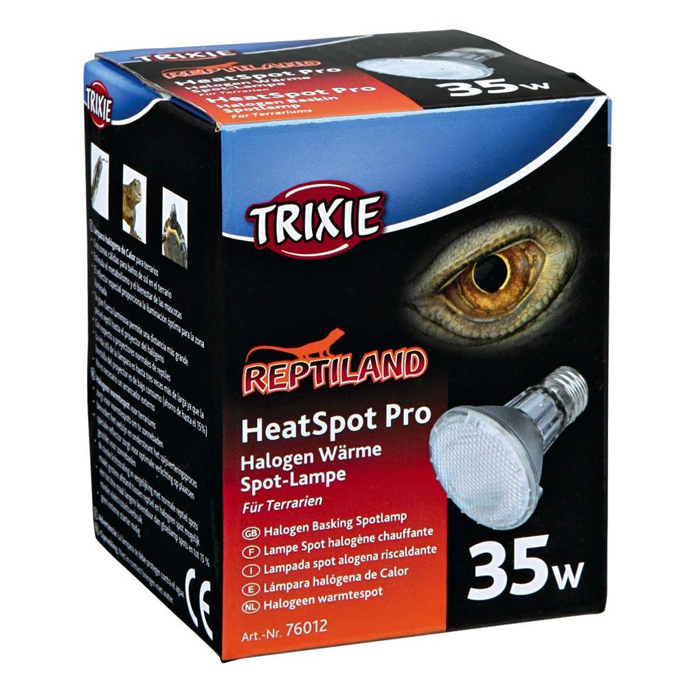 Trixie Halogen-Wärmelampe HeatSpot Pro für Terrarium, ø 65 × 88 mm, 50 W