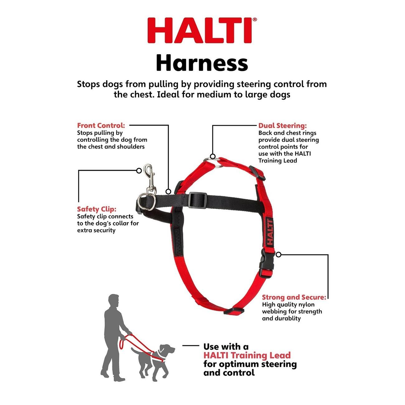 Company of Animals HALTI Harness Ausbildungsgeschirr für Hunde, Bild 6