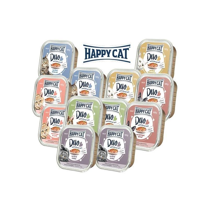 Happy Cat Duo Mischkarton Katzenfutter