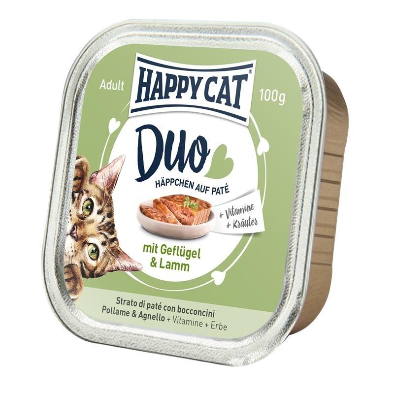 Happy Cat Duo Paté Nassfutter für Katzen, Bild 2
