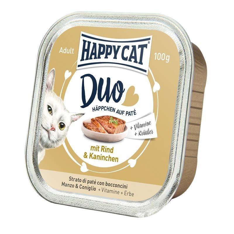 Happy Cat Duo Paté Nassfutter für Katzen, Bild 5