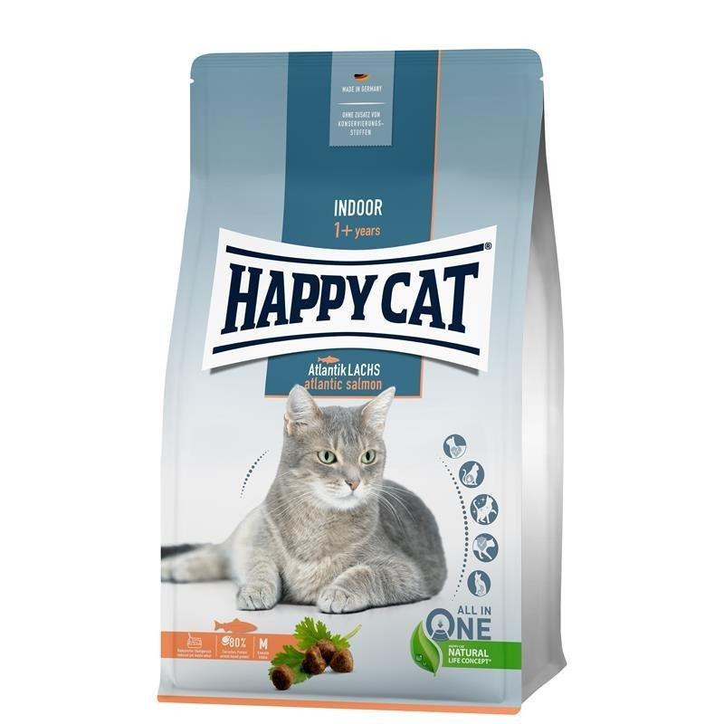 Happy Cat Indoor Adult Atlantik Lachs